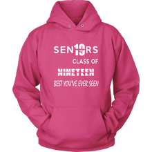 Load image into Gallery viewer, Senior Class of 2019 Hoodie - Pink