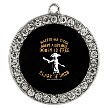 Load image into Gallery viewer, Dobby is Free - Graduation Pendant Necklace