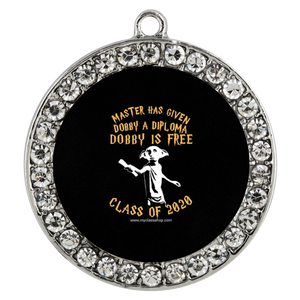 Dobby is Free - Graduation Pendant Necklace