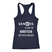 Load image into Gallery viewer, Sen19rs Tank Top - Class of 2019 Tank Tops