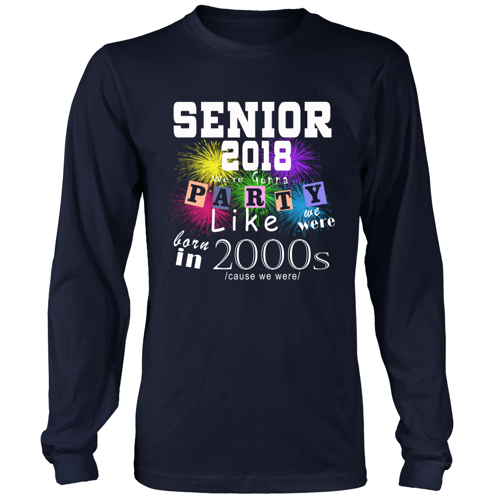 Senior 2018 Party - Class of 2018 t-shirts - My Class Shop