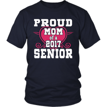 Load image into Gallery viewer, Proud Mom of a Senior-Graduation t shirts for family - My Class Shop