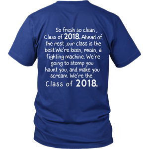 So Fresh So Clean-Class of 2018 t shirts - My Class Shop