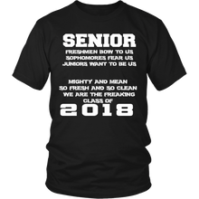 Load image into Gallery viewer, Mighty and Mean-Class of 2018 shirts - My Class Shop