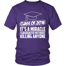 Load image into Gallery viewer, Class of 2016 - It's a Miracle - My Class Shop