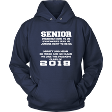 Load image into Gallery viewer, Mighty and Mean-Class of 2018 hoodies - My Class Shop