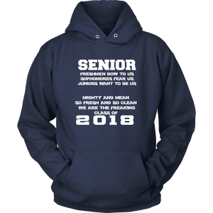 Mighty and Mean-Class of 2018 hoodies - My Class Shop