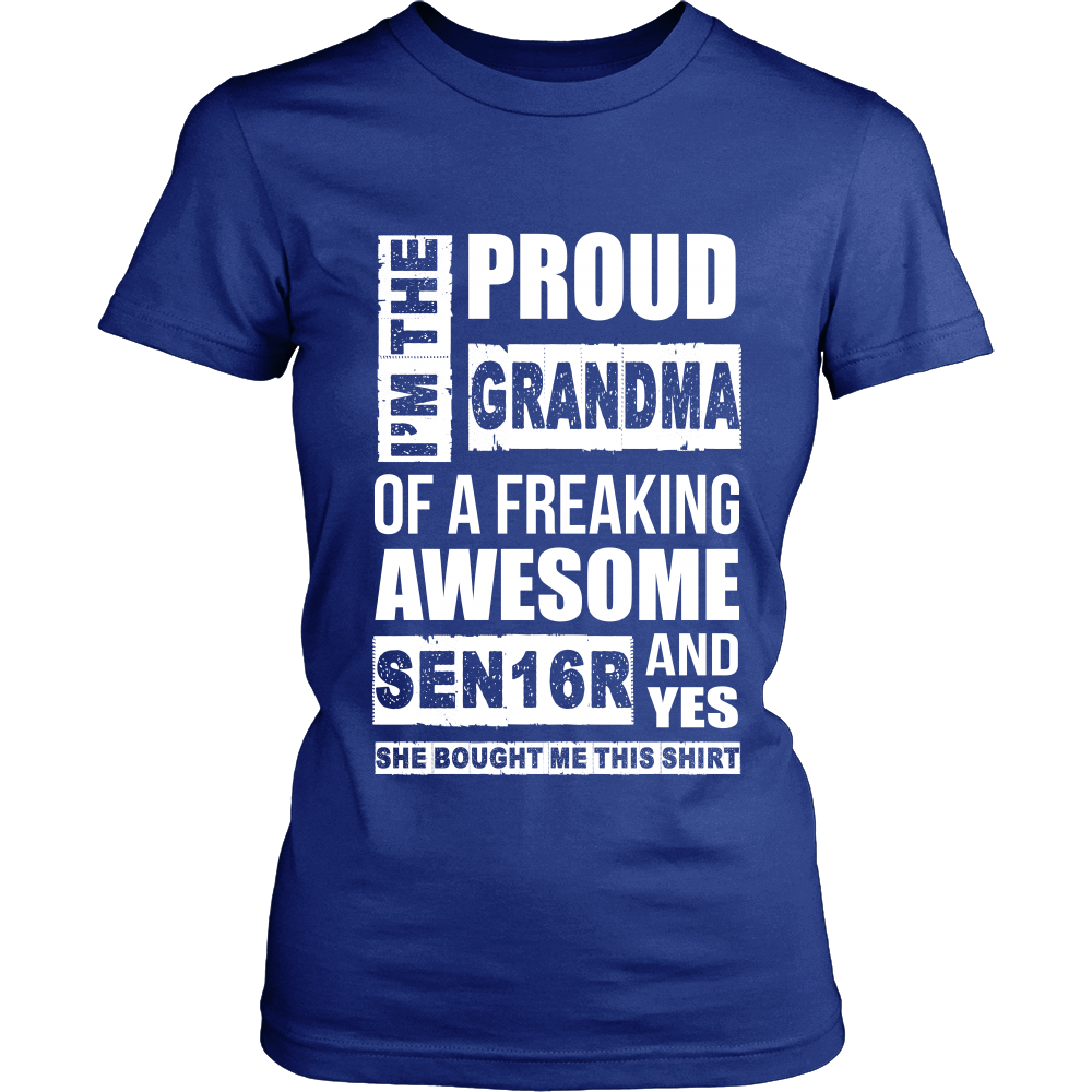 I'm the Proud Grandma of 2016 Senior - My Class Shop