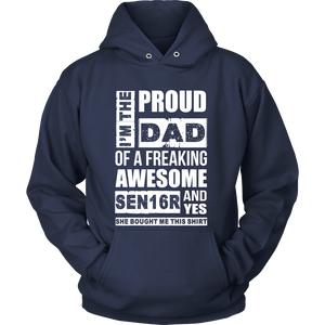 I'm the Proud Dad of 2016 Senior - My Class Shop