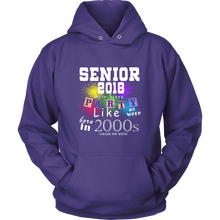Load image into Gallery viewer, Senior 2018 Party - Seniors 2018 hoodie - My Class Shop
