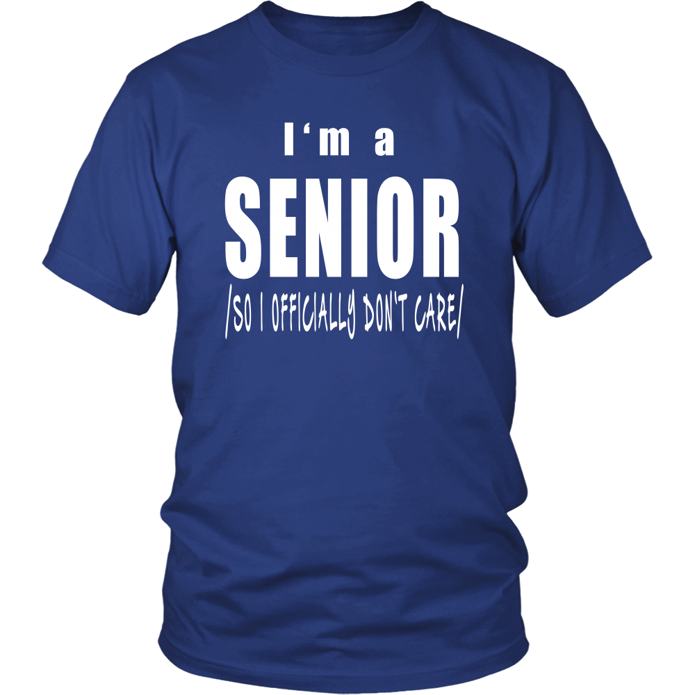 Senior-Don't Care - My Class Shop