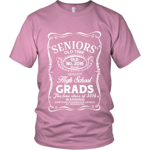 Senior's Old Time - Fine Class Of 2016 - My Class Shop
