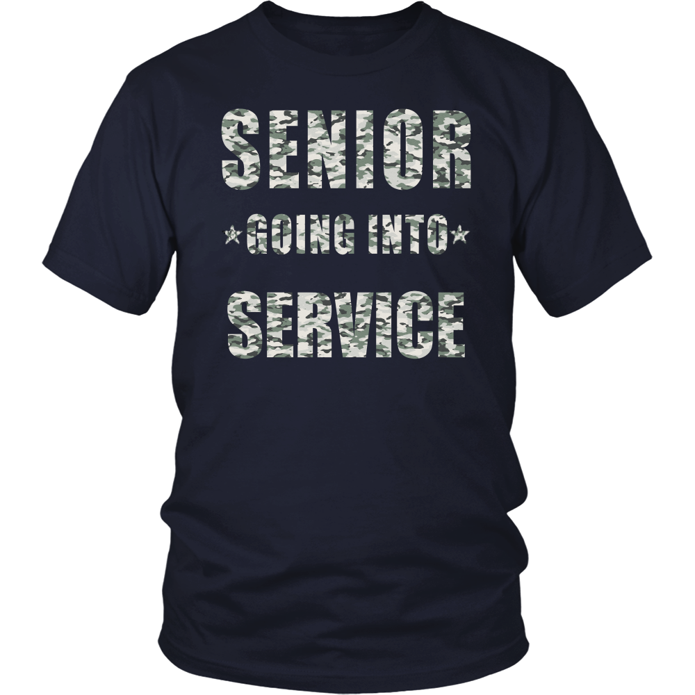 Senior Going Into Service-  Graduation 2017 - My Class Shop