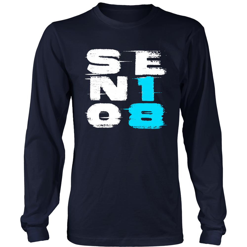 Senior18 - Class of 2018 long sleeve t shirts - My Class Shop