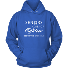Load image into Gallery viewer, Sen18rs - Graduation hoodie ideas - My Class Shop