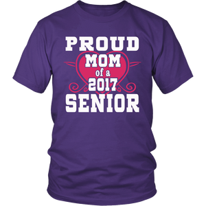 Proud Mom of a Senior-Graduation t shirts for family - My Class Shop