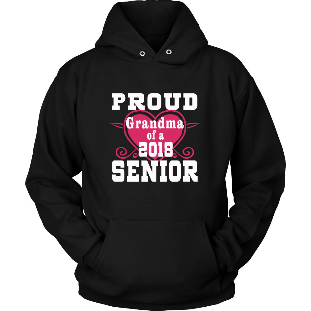 Proud Grandma of 2018 Senior- graduation shirts - My Class Shop