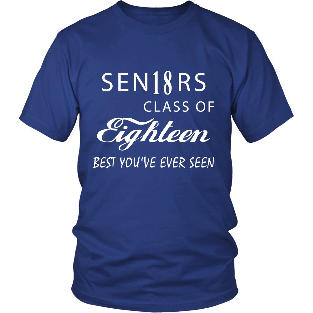 Sen18rs - Graduation t shirts ideas - My Class Shop
