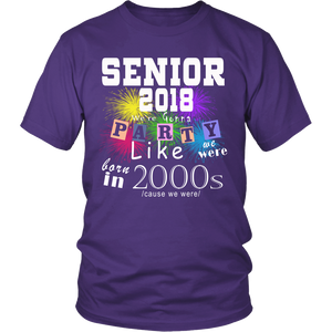 Senior 2018 Party - Class of 2018 slogans - My Class Shop