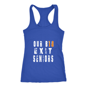 Our B18 Exit- Class of 2018 Tank Tops - My Class Shop
