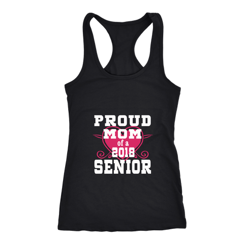 Proud Mom of 2018 Senior Tank Top - Class of 2018 shirts - My Class Shop