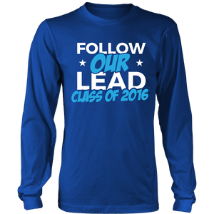 Follow Our Lead - Class of 2016 - My Class Shop