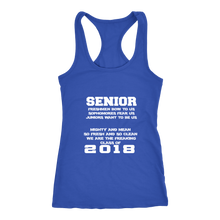 Load image into Gallery viewer, Mighty and Mean-Class of 2018 Tank Top - My Class Shop