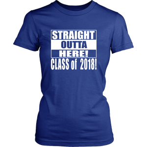 Straight Outta Here-Seniors shirt - My Class Shop