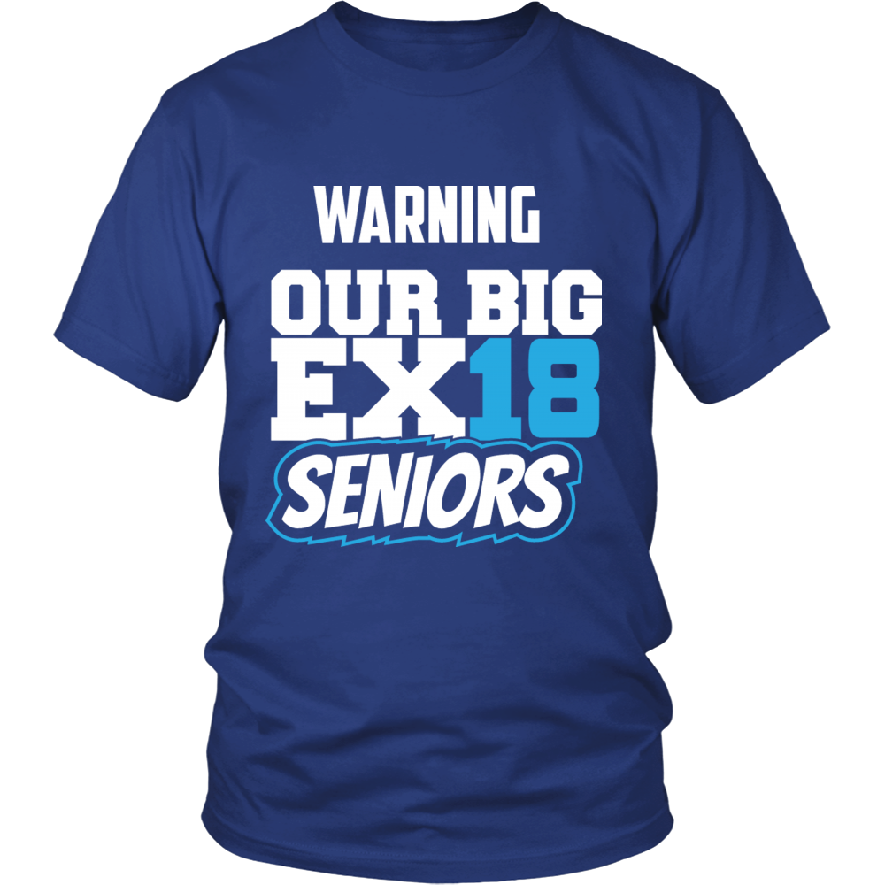 Big Exit - Class of 2018 t shirts - My Class Shop