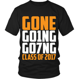 GONE, GO1NG, GO7NG - Class of 2017 - My Class Shop