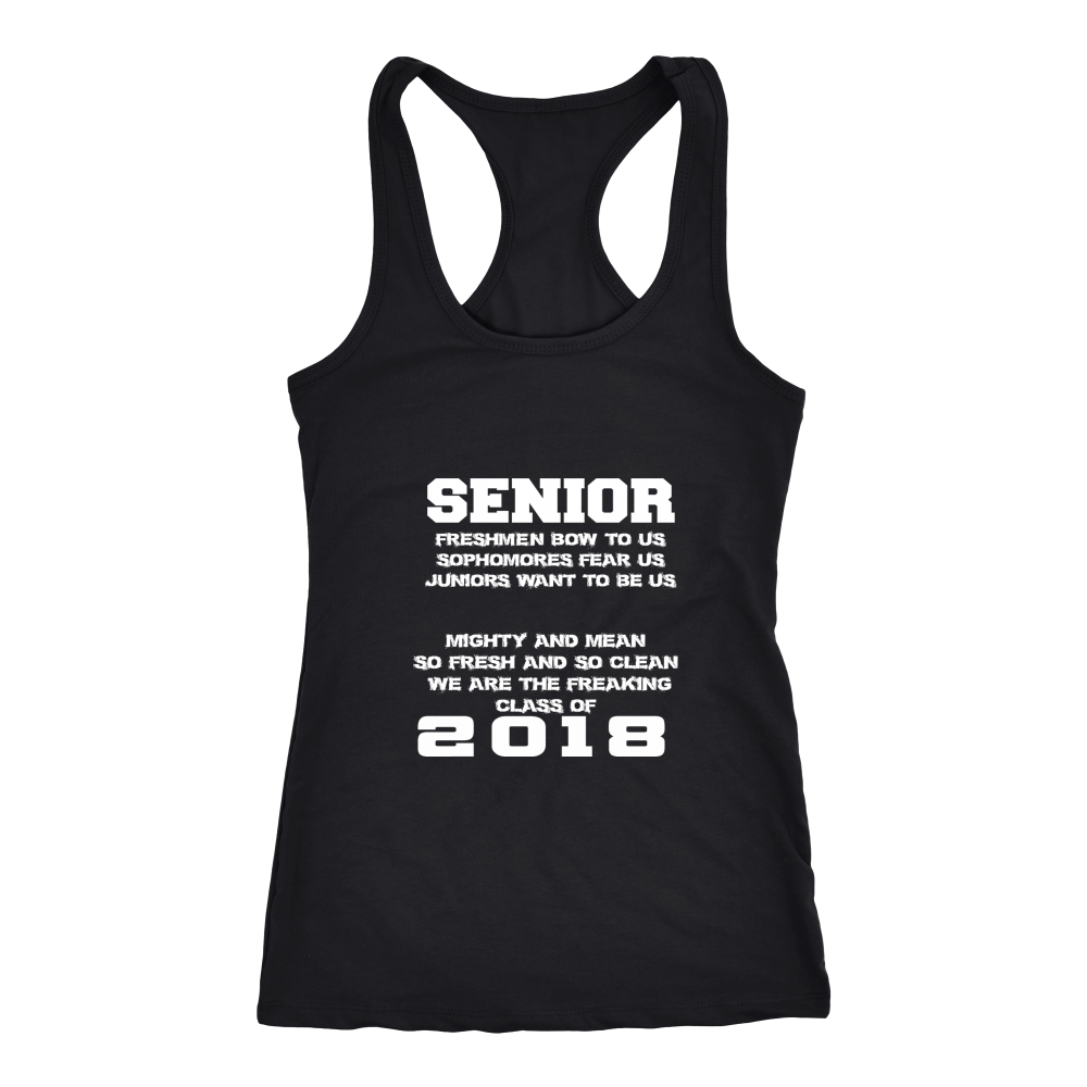 Mighty and Mean-Class of 2018 Tank Top - My Class Shop