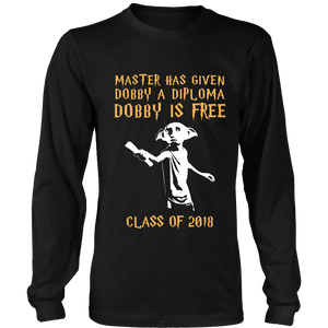 Dobby is Free - Seniors shirt - My Class Shop
