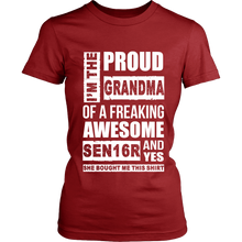 Load image into Gallery viewer, I'm the Proud Grandma of 2016 Senior - My Class Shop