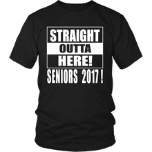 Load image into Gallery viewer, Straight Outta Here-Class of 2017 - My Class Shop