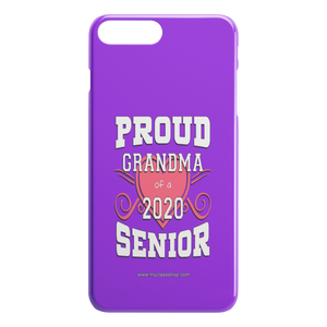 Proud Grandma of a 2020 Senior - Purple Edition