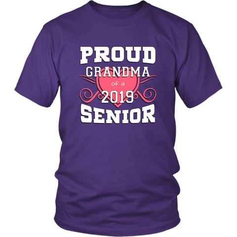 Proud Grandma Of A 2019 Senior - Family Shirt Ideas