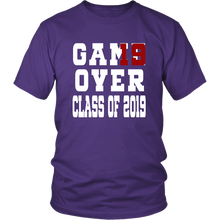 Load image into Gallery viewer, Class of 19 shirts - Game Over - Purple