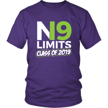 Load image into Gallery viewer, No Limits - Class of 2019 Senior Shirts - Purple