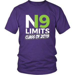 No Limits - Class of 2019 Senior Shirts - Purple