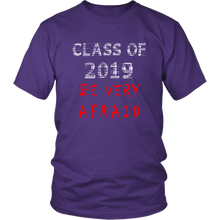 Load image into Gallery viewer, Class of 2019 shirts with slogans - Purple