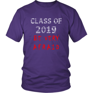 Class of 2019 shirts with slogans - Purple