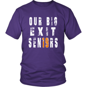 Class shirts 2019 - Our Big Exit - Purple