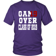Load image into Gallery viewer, Game Over - Graduation Shirts - Purple
