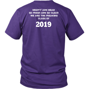 Class T-shirts 2019 - Mighty and Mean