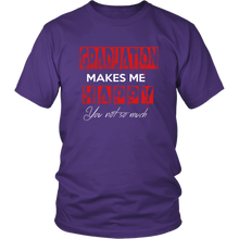 Load image into Gallery viewer, Graduation Makes Me Happy - Senior Class of 2019 Shirts - Purple