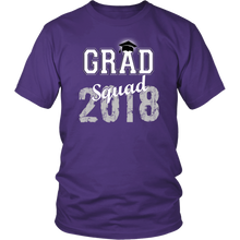 Load image into Gallery viewer, 2018 Grad Squad T shirts - Graduation Shirts For Family - Purple