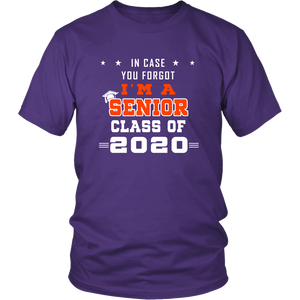 In Case You Forgot - Senior Class Shirt Designs 2020
