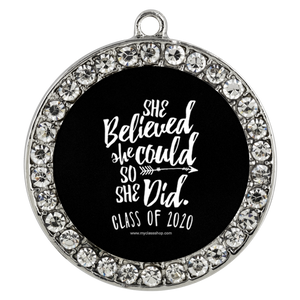 She Believed She Could So She Did - Grad Bracelets