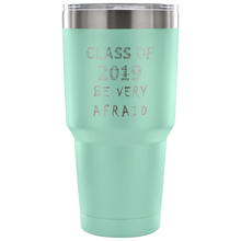 Load image into Gallery viewer, Graduation Coffee Mugs - Be Very Afraid - Teal