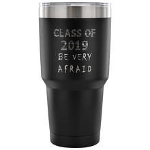 Load image into Gallery viewer, Graduation Coffee Mugs - Be Very Afraid - Black